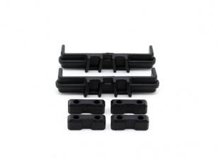 Servohalterung, Stück Batteriespannung - Basher Sabertooth 1/8 Skala Truggy