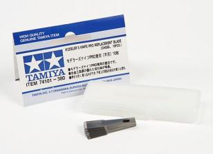 Tamiya Modeler Messer Pro - Meisselklinge Set (10 Stück)