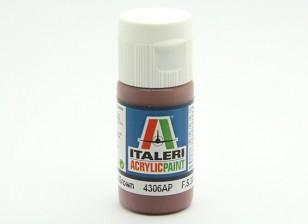 Italeri Acrylfarbe - Wohnung Mittelbraun