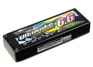 Turnigy Nano-Tech ultimative 6600mAh 2S2P 90C Hardcase Lipo-Pack (ROAR & BRCA-Zulassung)