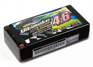 Turnigy Nano-Tech ultimative 4600mAh 2S2P 90C Hardcase Lipo Short-Pack (ROAR & BRCA-Zulassung)