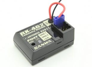 Sanwa / Airtronics RX-462 2,4 GHz FHSS-4T Super-Response-4CH Telemetrie-Empfänger