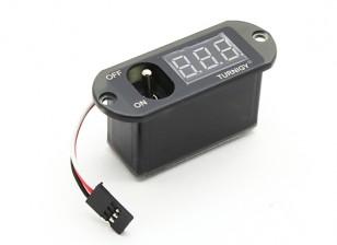 Turnigy Min Stromverteiler Spannungsanzeige Schalter