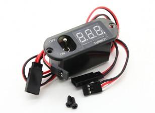 Turnigy 3 Funktion CDI Remote Master - Spannungsanzeige - Receiver Switch (No BEC)