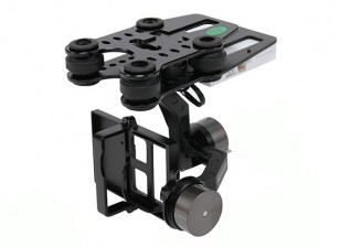 Quanum Q-2D-Brushless GoPro 3 Gimbal (geeignet für Nova, Phantom, QR X350 und andere)