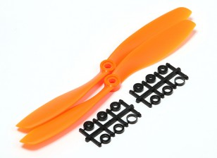 Turnigy Slowfly Propeller 8x4.5 Orange (CCW) (2 Stück)