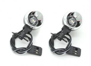 LED-Licht - Nitro Circus Basher 1/8 Skala Monster Truck (2 Stück)