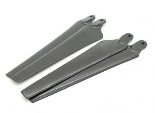Acromodelle Carbon für DJI S800 Evo Propeller 15x5.2 Schwarz (CW / CCW) (2 Stück)