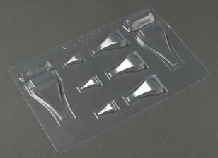 NACA-Art-Einlasskanal Set