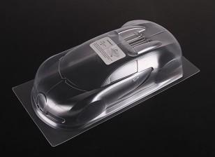 01.10 Bugatti Veyron 16.4 Clear Body Shell