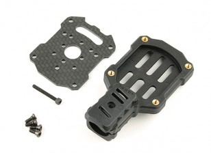 Tarot FY650 & FY680 16mm Motorhalterung (Schwarz)
