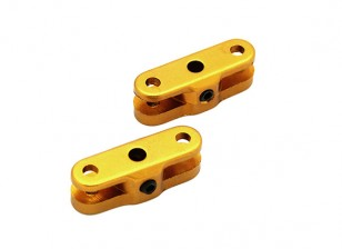 25mm Folding Propeller Adapter für 3.17mm Welle (Gold) 1 Paar