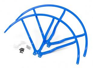 12-Zoll-Kunststoff-Universal-Multi-Rotor Propellerschutz - Blau (2set)