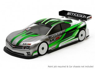 Bittydesign MC10 190mm 1/10 Touring Car Racing Karosserie (ROAR genehmigt)