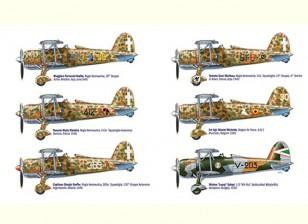 Italeri 1:48 Fiat CR.42 Falco Aces Plastic Model Kit
