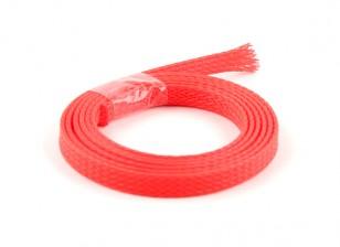 Schutzgitter Neon Red 6mm (1m)