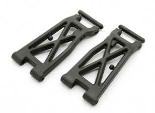 Faserverstärkte Rear Lower Arms - BZ-444 Pro 1/10 4WD Racing Buggy (1Paar)