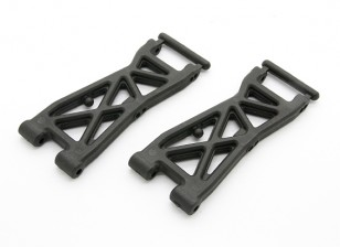 Faserverstärkte Front Lower Arm - BZ-444 Pro 1/10 4WD Racing Buggy (1Paar)