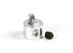 4mm Schaft aus Aluminium Dog Drive mit Madenschraube