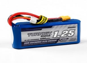 Turnigy 1250mAh 3S 30C Lipo-Pack (Long)
