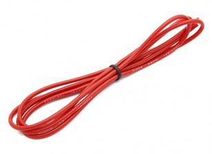 Turnigy Qualitäts-18AWG Silikonkabel 1m (rot)