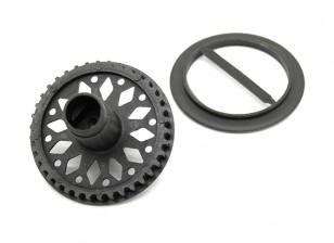 BT-4 Kunststoff Welle-Zahnrad-Ring / Front Spool TR1026