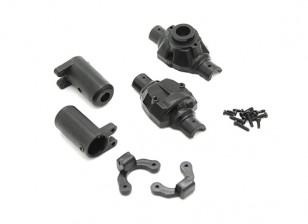 Hinterachse Case - OH35P01 1/35 Rock Crawler Kit