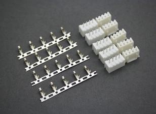 (3S) 4 Pin JST-XH Balancer Stecker Stecker / Buchse (5 Paare)