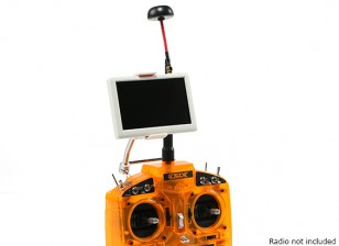 5 Zoll 800x480 5,8 GHz kleiner Pilot HD FPV-Monitor mit Pilz-Antenne und Halterung