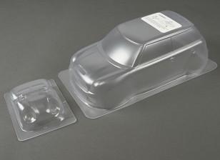 1.10 Mini Cooper S 2001 Clear Body Shell (für M-Chassis)