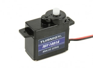 Turnigy TGY-1801A Analog Servo 1.4kg /0.10sec / 8G