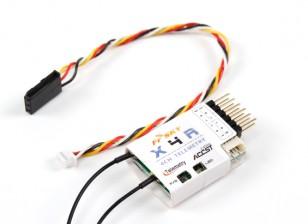 FrSky X4R 4CH 2.4GHz ACCST Empfänger (w / Telemetrie) (2015 EU-Version)