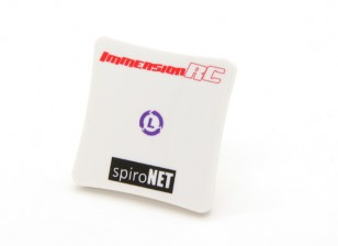 SpiroNet 8dBi LHCP Mini-Patch-Antenne