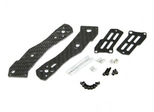 Tarot Halb Carbon Hinterrad Arm 2.5mm für TL250H Halb Carbon-Faser-Multi-Rotoren
