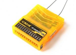 OrangeRx R1220X V2 12Ch 2,4 GHz DSM2 / DSMX Comp Full Range Rx w / Sat, Div Ant, F / Safe & CPPM
