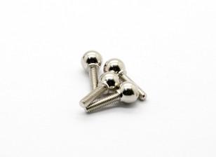 Kugelgelenk-B (4 Stück) - Basher Rocksta 24.01 4WS Mini Rock Crawler