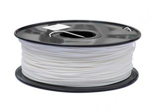 Hobbyking 3D-Drucker Filament 1.75mm PLA 1KG Spool (weiß)