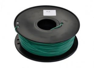 Hobbyking 3D-Drucker Filament 1.75mm PLA 1KG Spool (Farbwechsel - Grün zu Gelb)