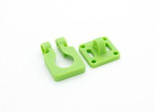 DIATONE Kameraobjektiv Einstellbare Halterung für Miniaturkameras (Grün)