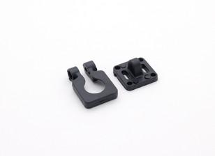 DIATONE Kameraobjektiv Einstellbare Halterung für Miniaturkameras (Schwarz)