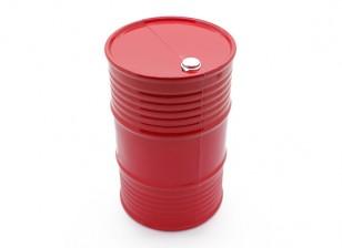 Maßstab 1:10 45 Gallon Ölfass - Orange