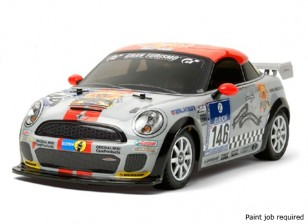 Tamiya 1/10 Maßstab Mini JCW Coupé Kit w / M-05 Chassis Kit 58520