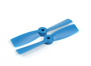 Hobbyking 4050 Bullnose PC Propellern (CW / CCW) Blau (1 Paar)