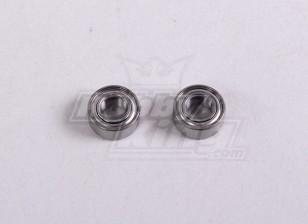 Ball Bearing 5 * 10 * 4 mm (2Pc / Bag) - A2016T, A2030, A2031, A2031-S, A2032, A2033, A3002 und A3015