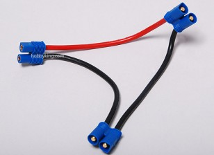 EC3 Batterie Harness 14AWG für 2 Packs in Serie