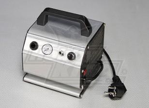 Luftverdichter mit einstellbarem Druck und Manometer