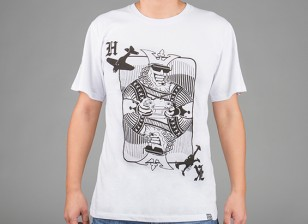 Hobbyking Apparel König Karte Baumwoll-Shirt (M)