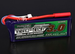 Turnigy Nano-Tech-3000mAh 3S 25 ~ 50C Lipo-Pack