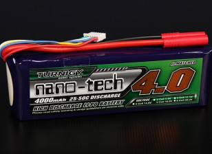 Turnigy Nano-Tech-4000mAh 5S 25 ~ 50C Lipo-Pack