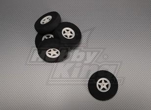 5-Speichen Felgen stoßabsorbierendes D75xH18mm (5pcs / bag)